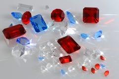 Precious stones Royalty Free Stock Photo