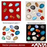 Precious stones Royalty Free Stock Images