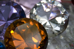 Precious stones Royalty Free Stock Photos