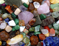 Precious stones for crafts. Stock Photography