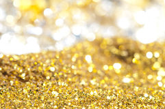 Precious treasure. Background. Gems and Gold Stock Images