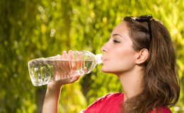 Precious water. Stock Images
