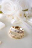 Precious wedding rings Stock Photo