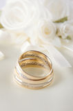 Precious wedding rings Stock Images