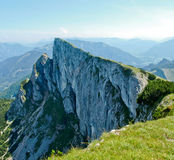 Precipice. In Salzkammergut, Austrian Alps Royalty Free Stock Images
