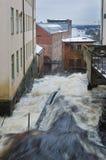 Precipitação da água da parte superior foto de stock royalty free