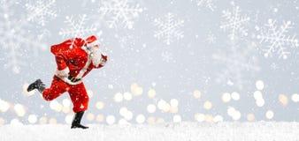 Precipitação da entrega do Natal Imagens de Stock