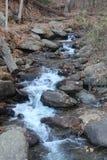 Precipitação de pedra foto de stock