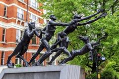 A precipitação do verde, Londres imagens de stock royalty free