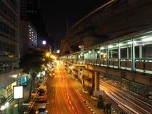 Precipitación Bangkok Fotografía de archivo