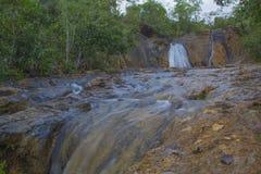 Precipitación del agua Imagenes de archivo