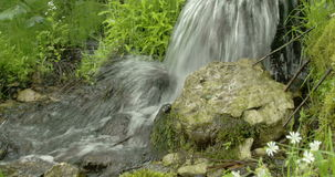 Precipitación del agua de la pequeña odisea 7Q de las caídas 4K FS700