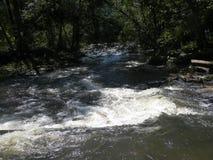 Precipitare del fiume fotografia stock libera da diritti