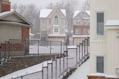 Precipitazioni nevose Immagine Stock Libera da Diritti