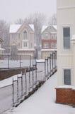 Precipitazioni nevose Fotografie Stock Libere da Diritti