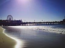Precis beachy Royaltyfri Foto