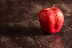 Precis ett äpple arkivbilder