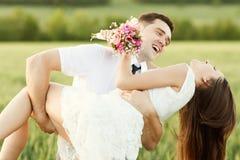 Precis gift par royaltyfria bilder