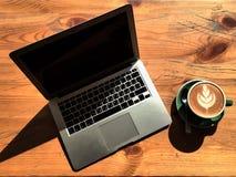 Precis kaffe royaltyfria bilder