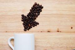 Precisa uma xícara de café /cafeine Foto de Stock Royalty Free