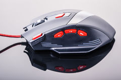Precise gaming mouse Royalty Free Stock Photos