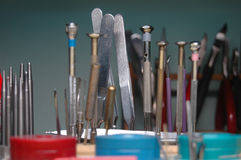 Precise Hand Tools Royalty Free Stock Images