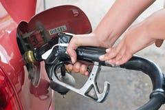 Precise mais gás Imagem de Stock Royalty Free