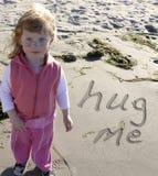 Precise um hug Imagem de Stock Royalty Free