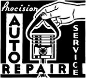 Precision Auto Repair Stock Images