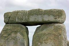 Precision Cut Stone Blocks At Stonehenge, England Stock Image