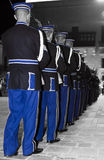 Precision Drill Team Royalty Free Stock Images