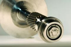 Precision engineered turbine Stock Images