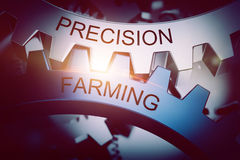 Precision farming concept Royalty Free Stock Photo