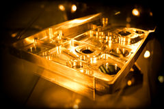 Precision machining. Precision engineering parts as used in the avation industry stock images