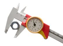 Precision measure tool Royalty Free Stock Photography