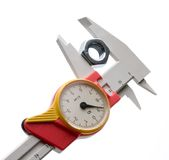 Precision measure tool Royalty Free Stock Images