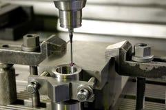 Precision measurement by sensing head Royalty Free Stock Photo