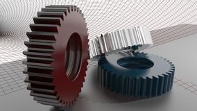 Precision mechanics Stock Photography