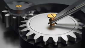 Precision Mechanics Stock Image