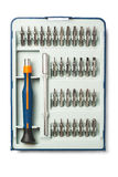 Precision screwdriver set Stock Image