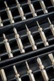 Precision Screwdriver Tips Stock Image