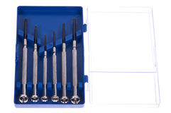 Precision screwdrivers Royalty Free Stock Image