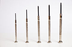 Precision screwdrivers set Stock Photos