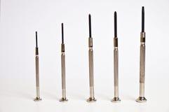 Precision screwdrivers set Stock Photos