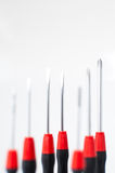 Precision screwdrivers for small screws, used by electronic Royalty Free Stock Photo