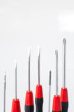 Precision screwdrivers for small screws, used by electronic Royalty Free Stock Images