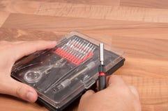 Precision Tool Kit Stock Image