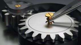 Precisionmekaniker Fotografering för Bildbyråer