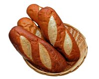 Precla bagel chleby Zdjęcie Stock