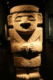 Precolumbian statue royalty free stock image